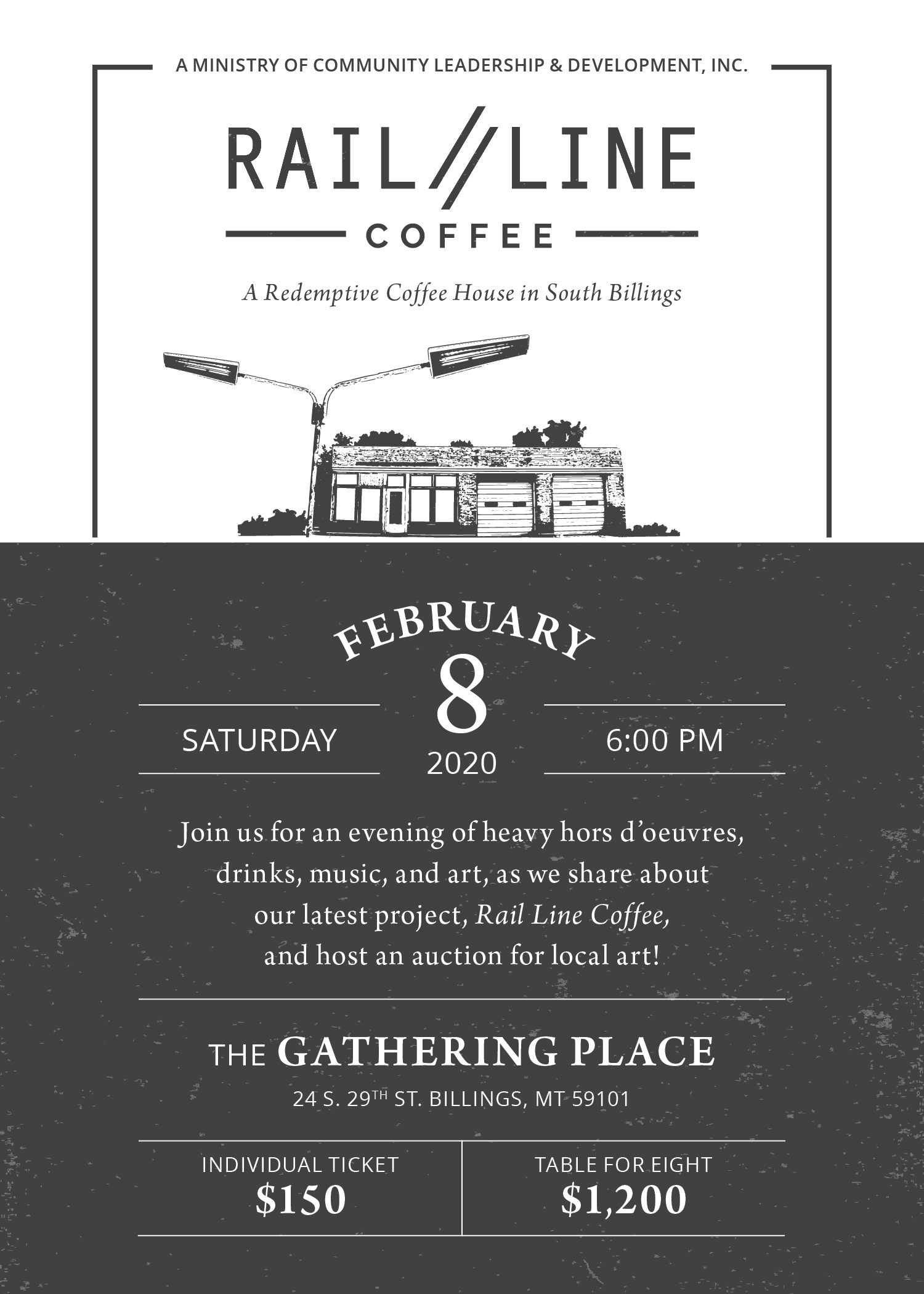 Join us for an art auction!