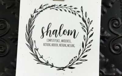 Shalom: Prayers and Prints